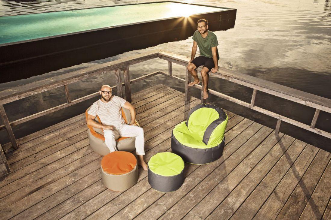 sitting point bebop scuba groengeel