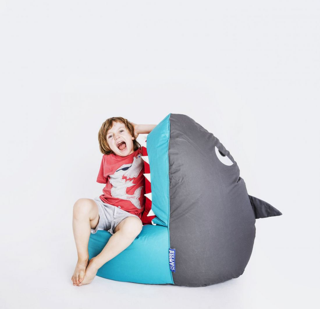 sitting point brava kinder zitzak haaishark