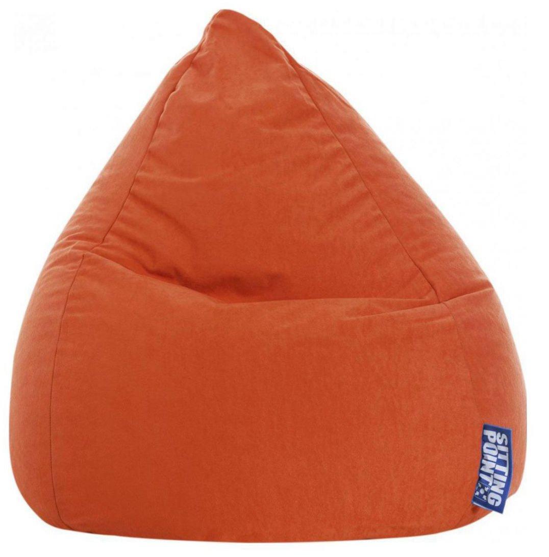 sitting point kinder zitzak beanbag easy l orange