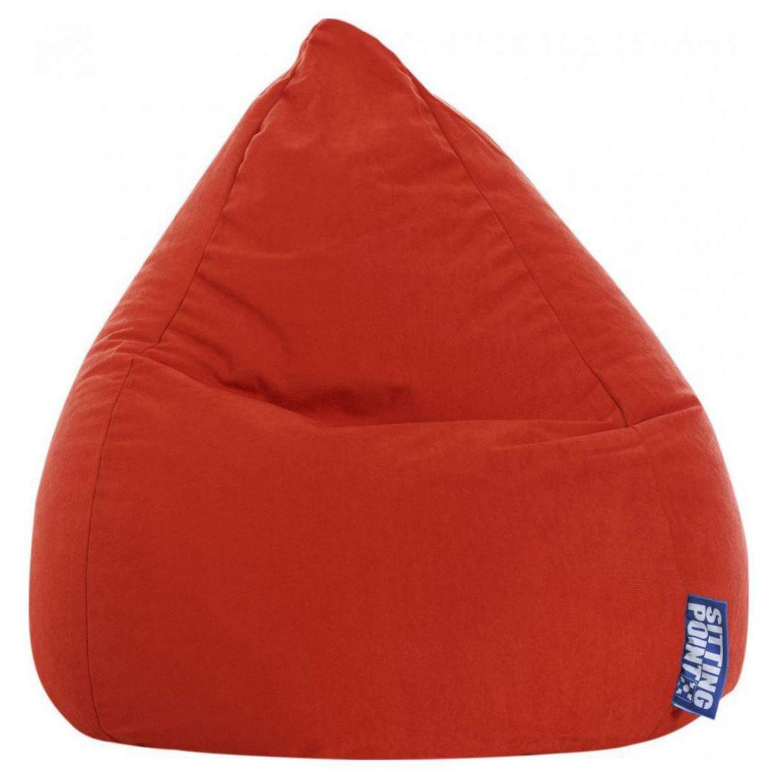 sitting point kinder zitzak beanbag easy l tomaat