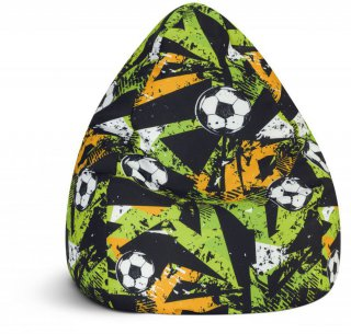 Sitting Point Kinder Zitzak BeanBag Goal - Groen