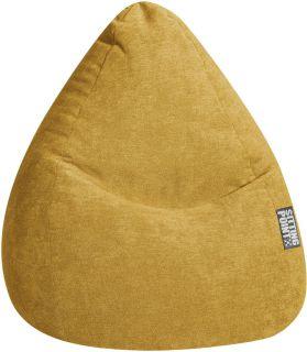 Sitting Point Zitzak BeanBag Alfa XL - Mosterd