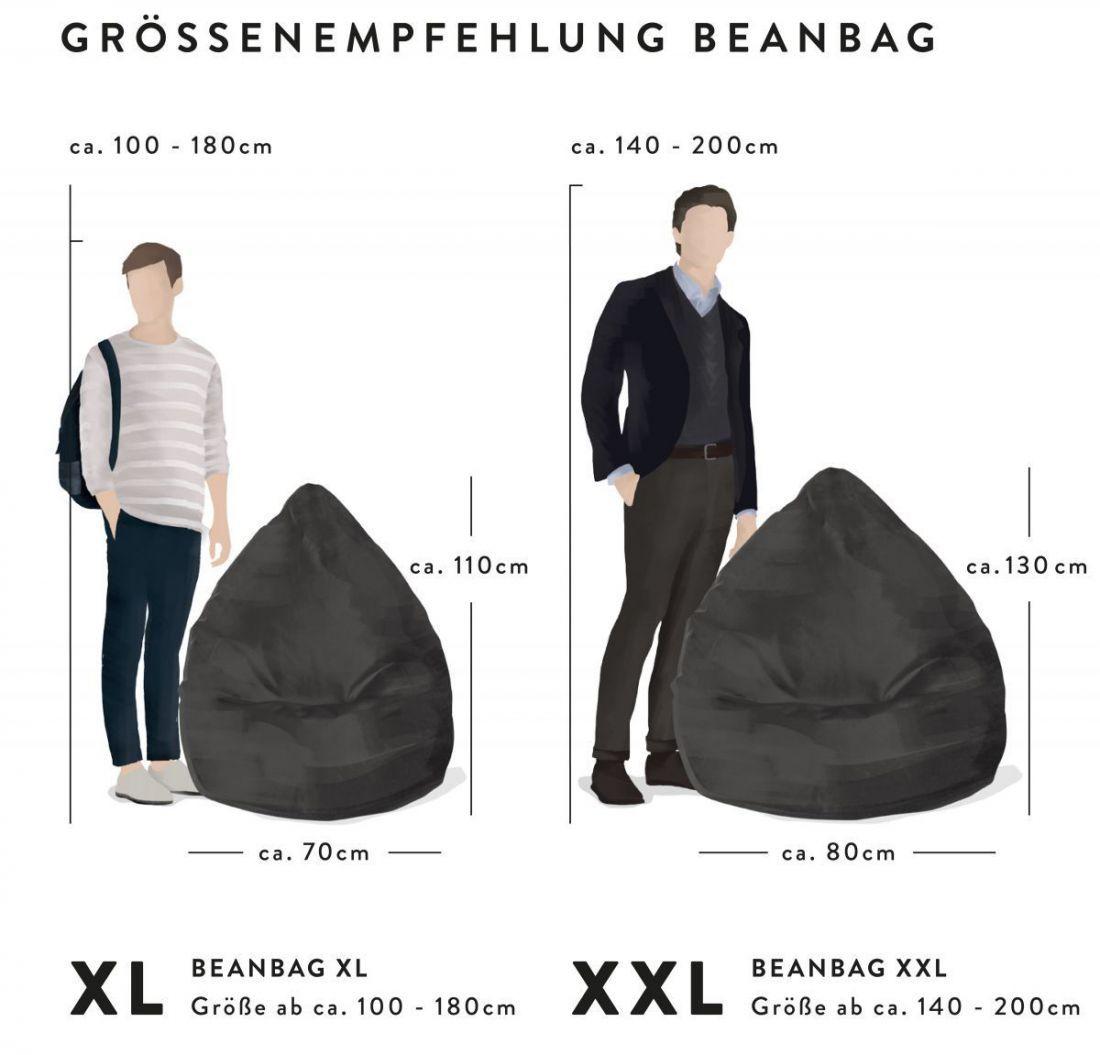 sitting point zitzak beanbag skins xl leeuw
