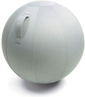 VLUV LEIV Zitbal Silver Grey 75 cm