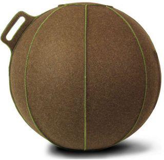Vluv VELT zitbal Bruin - Melange/Groen 75cm